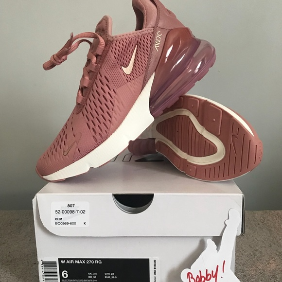 New Nike Womens AIR Max 270 Size 6 Running NWT